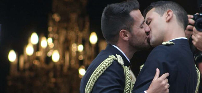 Photo of Primera Boda Gay en la Policía Nacional