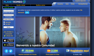 web gay para ligar Planet Romeo