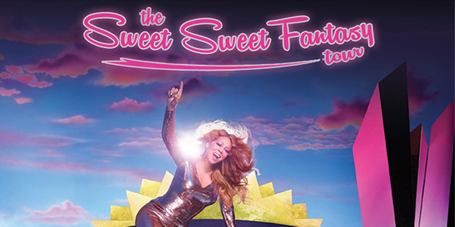 Photo of Mariah Carey de gira por Europa con The Sweet Sweet Fantasy Tour
