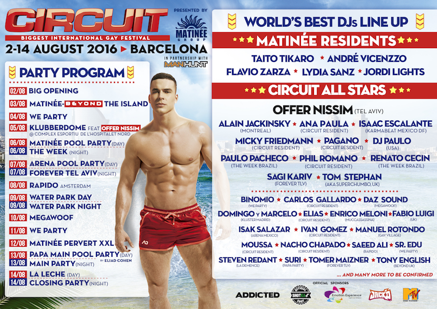 Barcelona Circuit Festival Programa