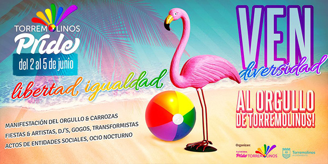 Photo of Novedades del Gay Pride de Torremolinos