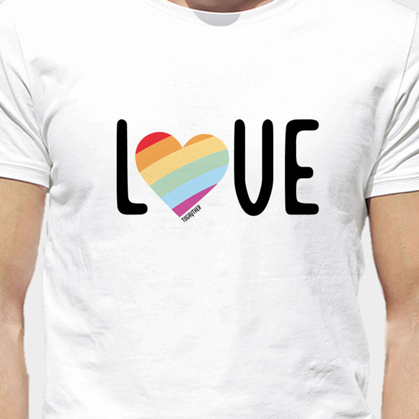 Camiseta Orgullo Love Togayther