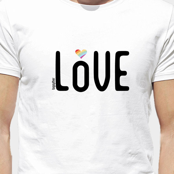 Camiseta Orgullo Más Love Togayther