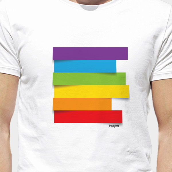 Camiseta Orgullo Arco Iris Togayther