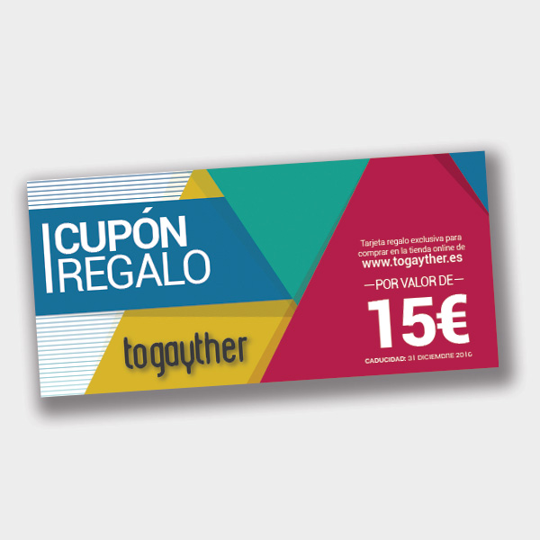 Cupón Regalo Gay 15 euros