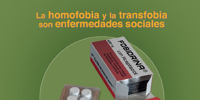 Campaña sensibilización homofobia y transfobia