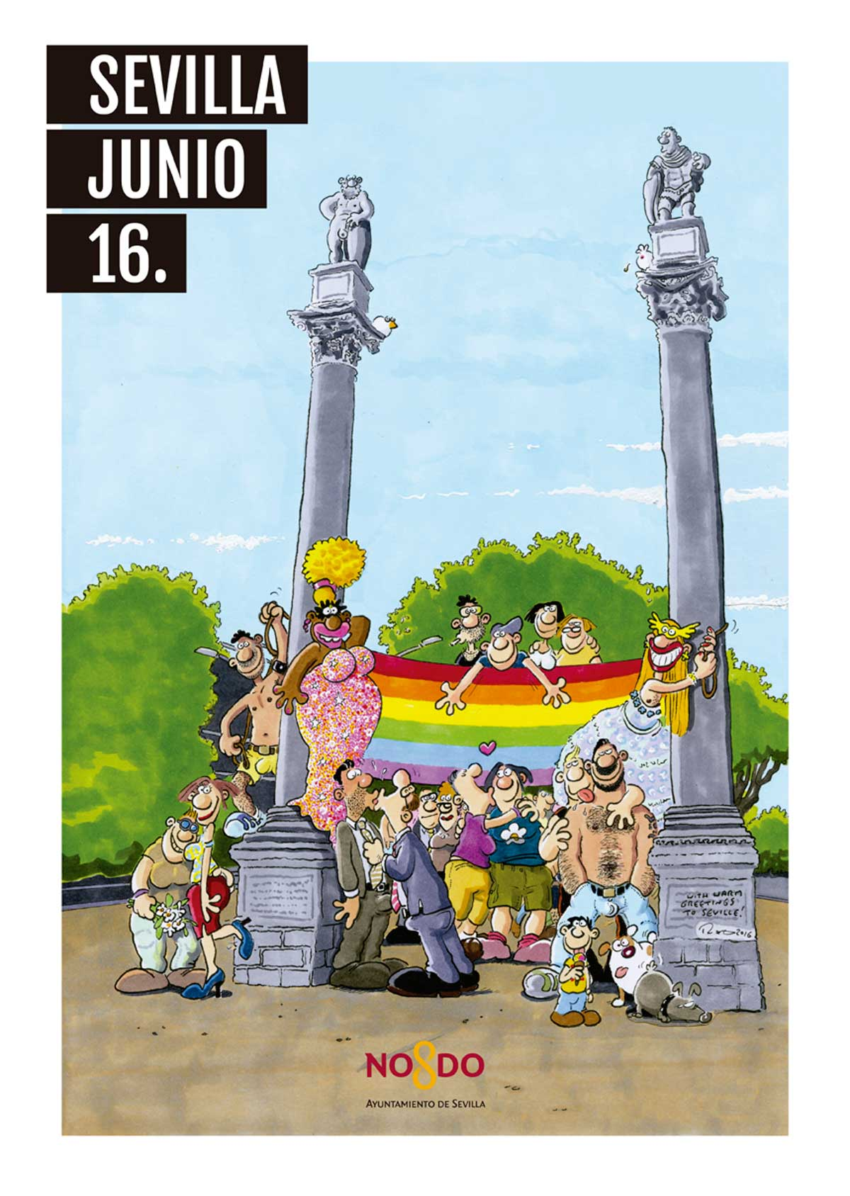 Programas de actividades para celebrar el Orgullo LGTBI 2016