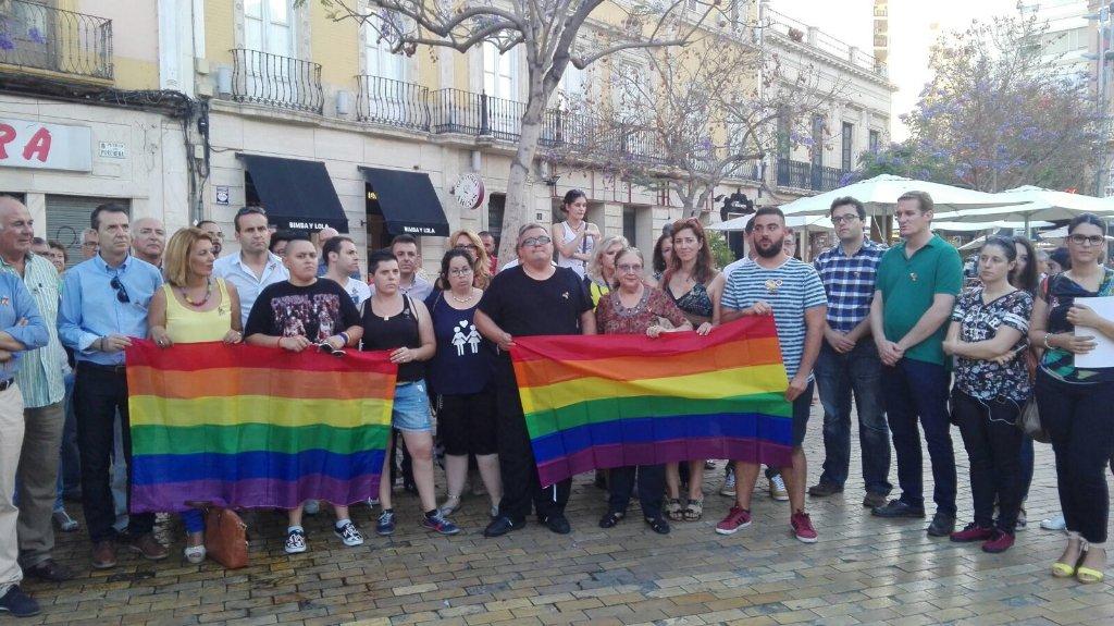 Almería contra el Atentado de Orlando