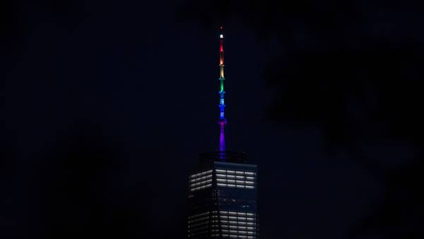 Empire State bandera gay