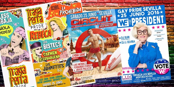 Photo of ¿A qué fiesta gay ir en el Orgullo de Sevilla?