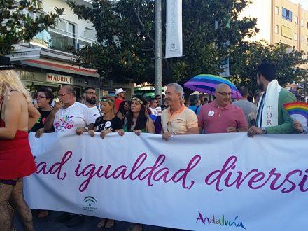 Un Orgullo Gay de Torremolinos sobresaliente. Fechas Orgullo LGBTI en Andalucía