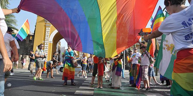 Manifestación del Orgullo Gay de Sevilla