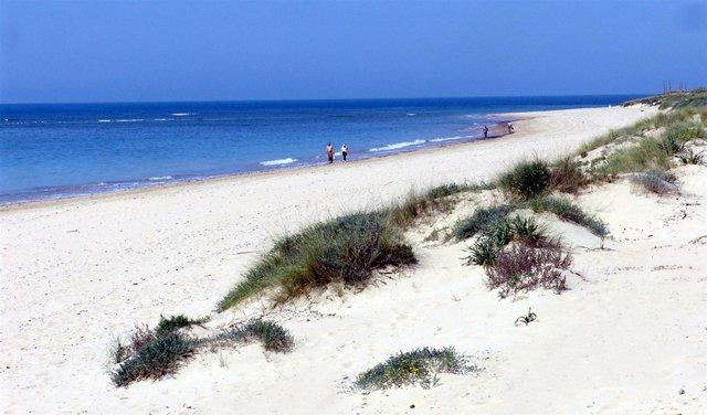 Playa Punta Cándor Rota