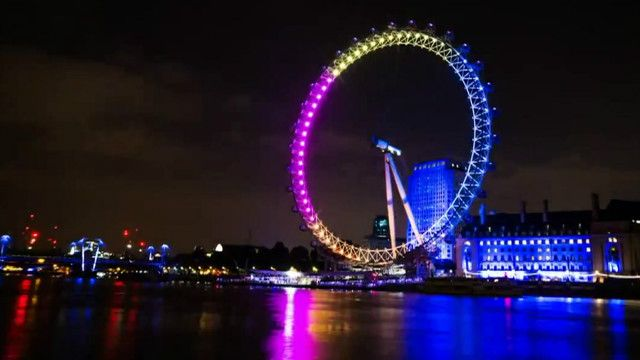 London Eye bandera gay