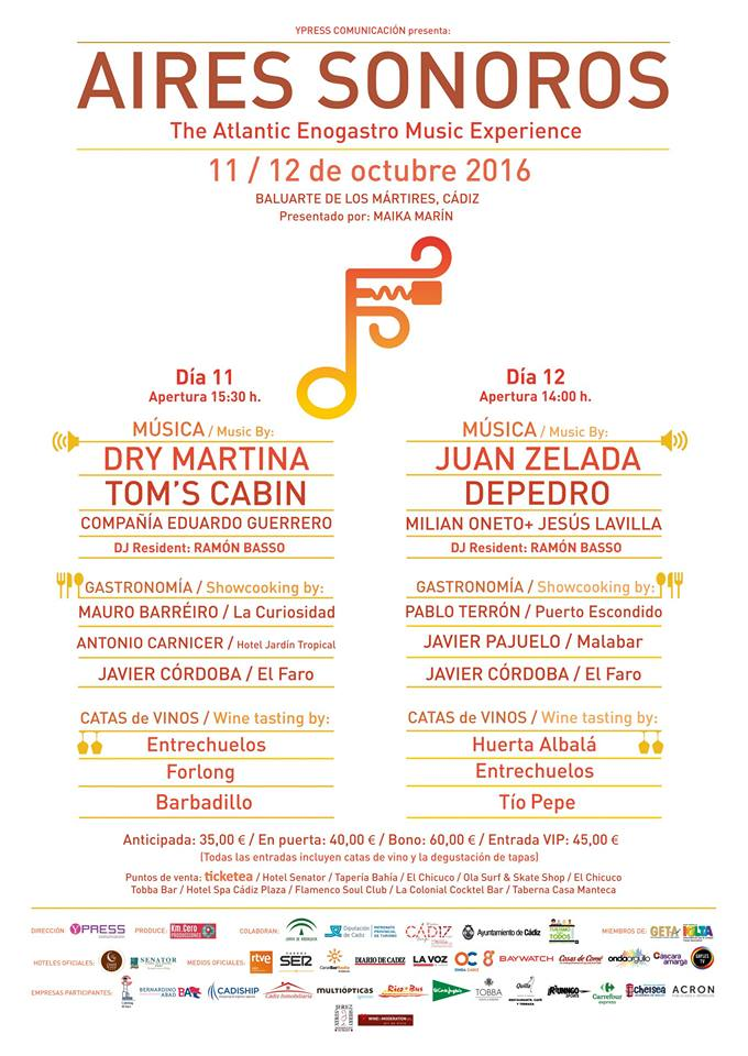 Aires sonoros, el festival Gayfriendly de Cádiz