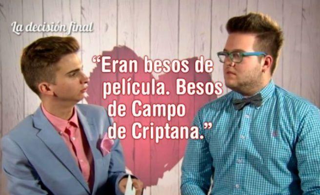 Pareja gays first dates