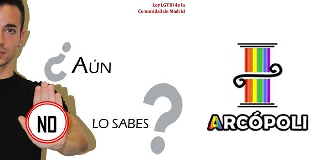 Arcópoli lanza una campaña para que el colectivo LGTB conozca todos sus derechos