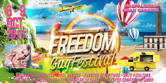 El Freedom Gay Festival de Maspalomas