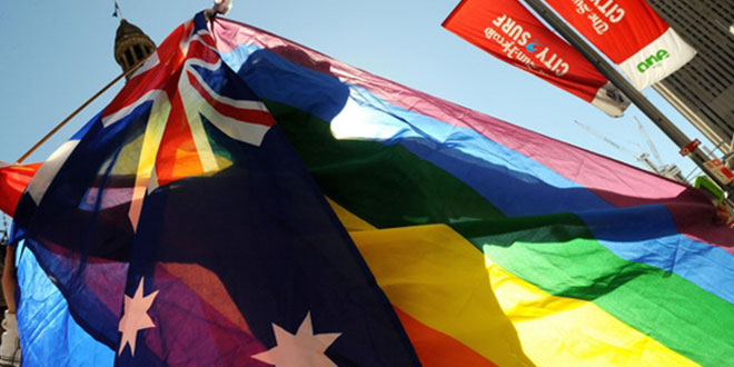 Australia a favor del matrimonio gay