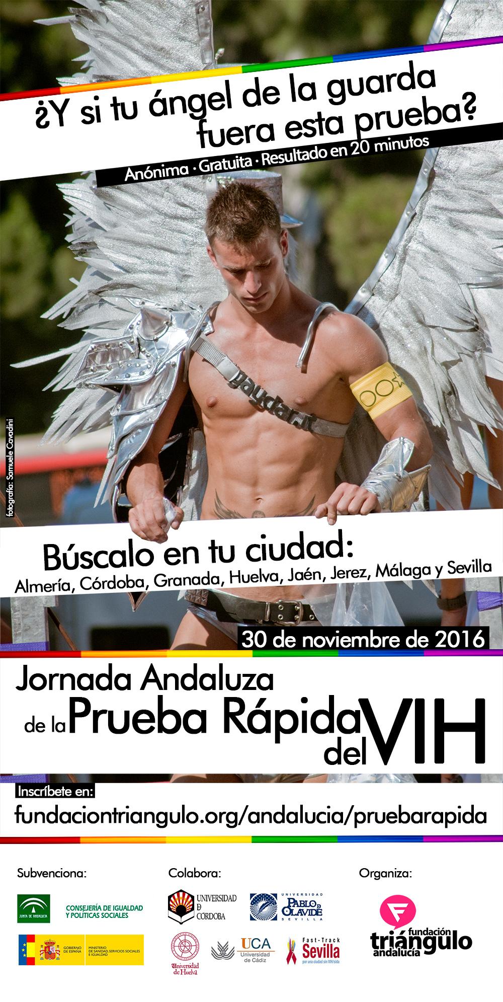 Prueba rápida VIH Andalucía