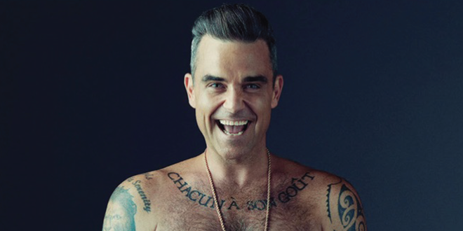 Photo of Robbie Williams desnudo en una revista gay