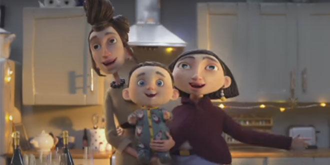 Photo of Sainsburys incluye una familia homoparental en su spot de navidad