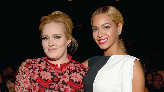Photo of Adele y Beyoncé enfrentadas por los Grammy