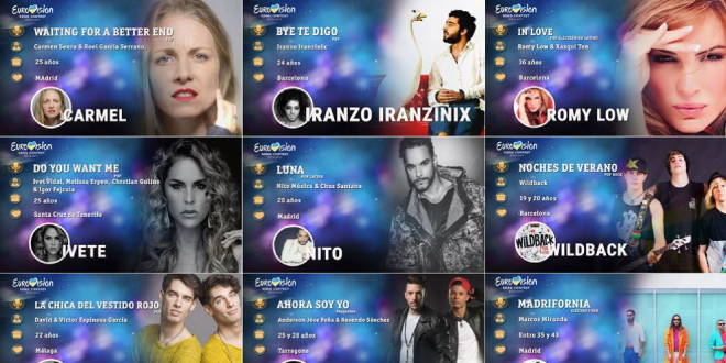 Photo of Ya conocemos a los 30 candidatos para Eurovisión 2017