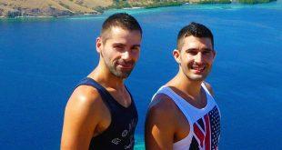 Conoce el mundo de la mano de la pareja gay, NomandicBoys