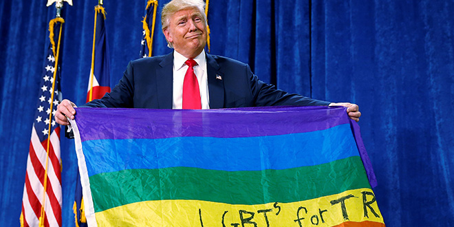 156 políticos LGTB le escriben una carta a Donald Trump