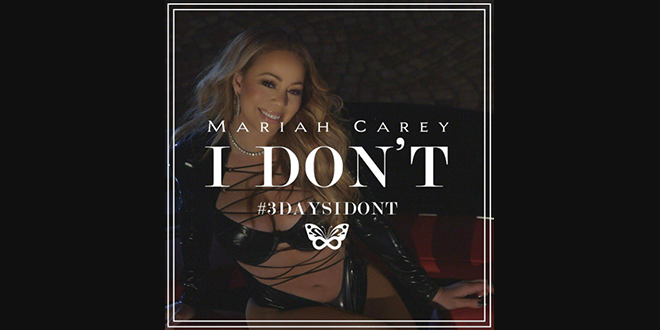 "Photo of Descubre la portada del último trabajo de Mariah Carey ""I Don´t"""