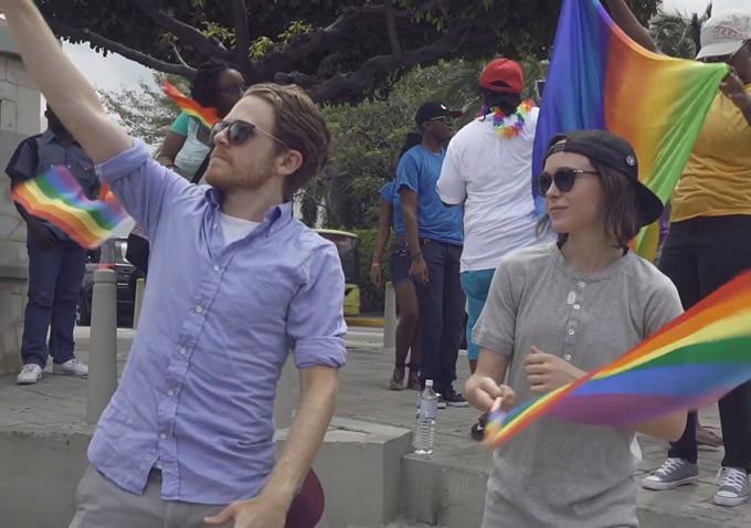"""La actriz Ellen Page muestra la realidad LGTB en el mundo en su documental """"Gaycation"""""""
