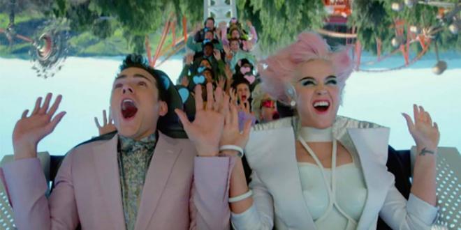 Un parque futurista es el lugar elegido por Katy Perry para su nuevo videoclip