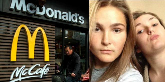 Pareja de lesbianas forzada a dejar McDonald's por besarse