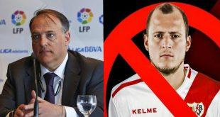 Javier Tebas, presidente de La Liga, compara a un nazi con un gay