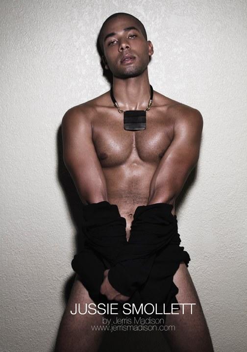 Filtran las fotos de Jussie Smollett, el protagonista gay de 'Empire'