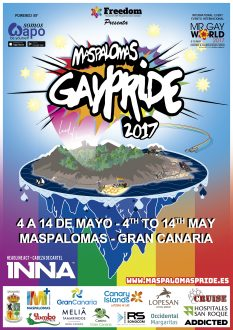 Cartel Oficial Maspalomas GayPride