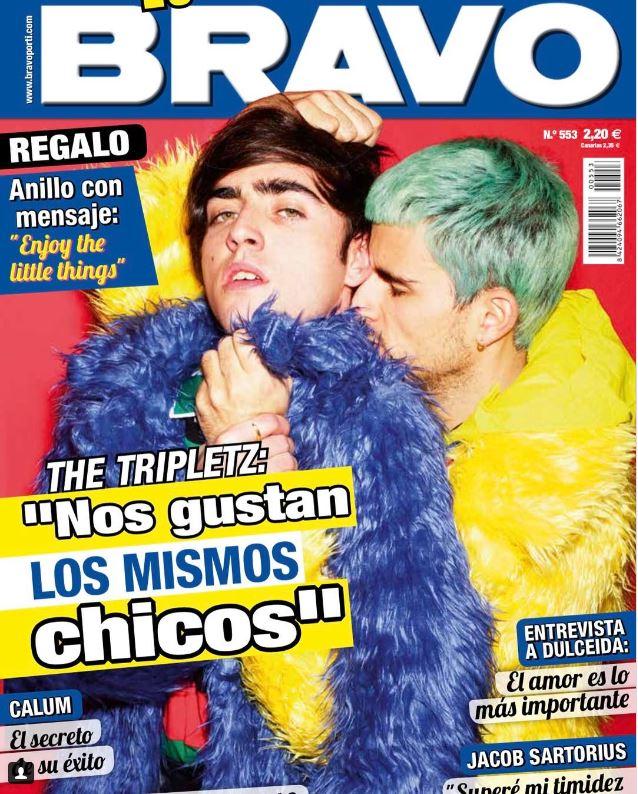 La revista BRAVO publica su primera portada gay