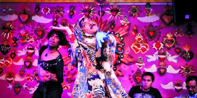 El 'vogue', un baile por la libertad LGTB en México.