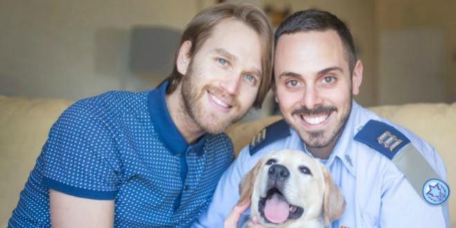 Photo of La fuerza aérea israelí celebra el día de la familia con pareja gay como protagonistas