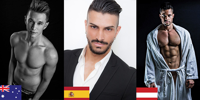 Photo of Los candidatos a Mister Gay World 2017