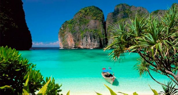 Patong Beach, en Phuket, Tailandia