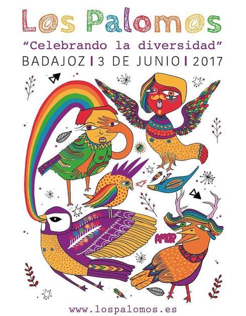 Cartel de Los Palomos 2017