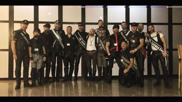 Una tarde con Mr Leather Spain 2017