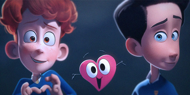 Photo of «In a Heartbeat»: Cortometraje animado de amor gay adolescente
