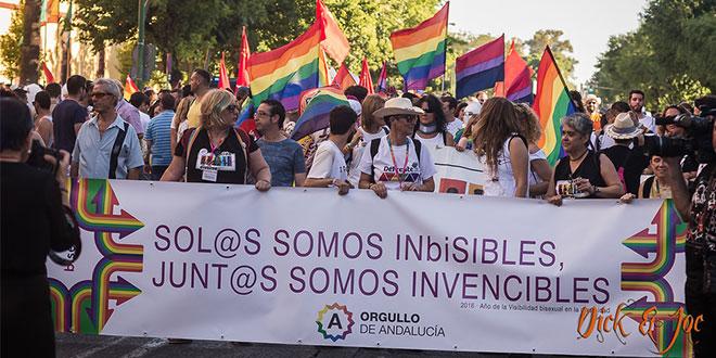Photo of Los Orgullos LGTBI de Andalucía 2017