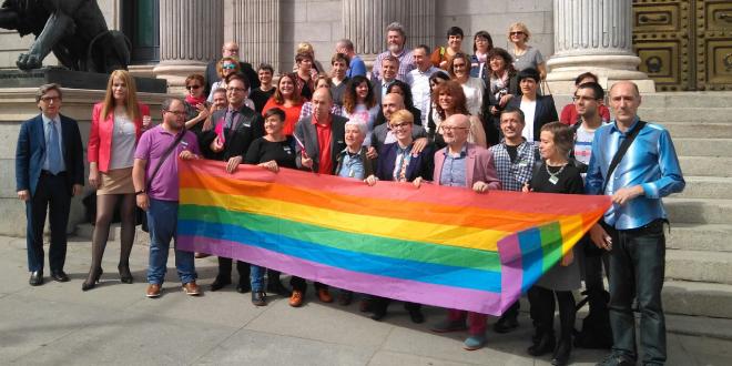 Registrada en el Congreso de los Diputados el borrador de Ley de Igualdad LGTBI
