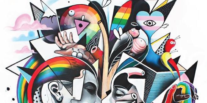Ya está aquí el Cartel del Orgullo de Andalucía 2017 diseñado por Daniel Dalopo