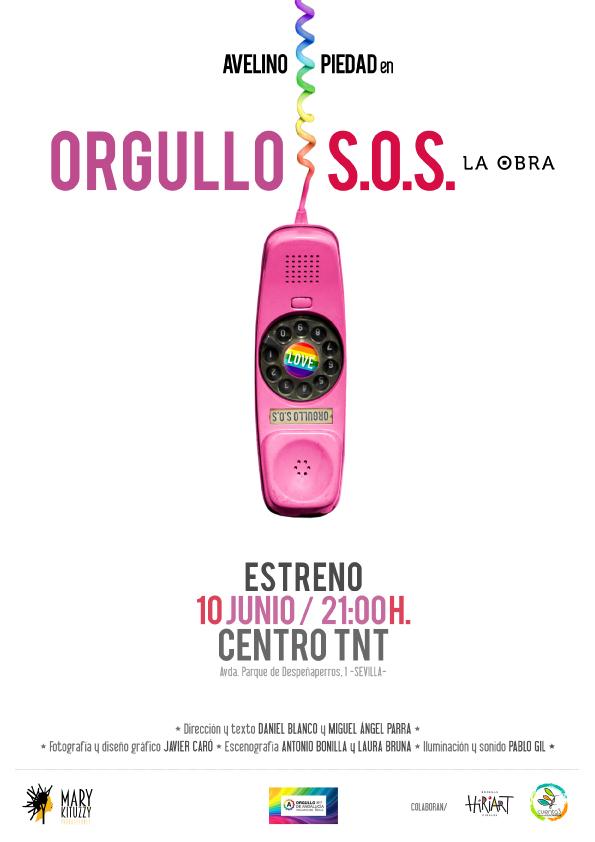 'Orgullo S.O.S. La obra' abrirá la I Muestra de Teatro con Orgullo de Sevilla