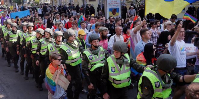 Diez heridos en ataque contra homosexuales tras Marcha de Igualdad en Kiev
